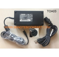 TOSHIBA Adapter อแด๊ปเตอร์  19V 180W  9.5A   (4 pin)  All in One